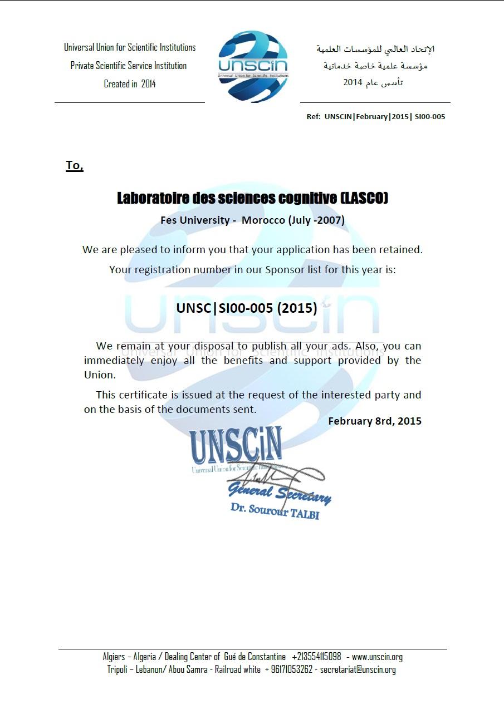 UNSCIN LASCO
