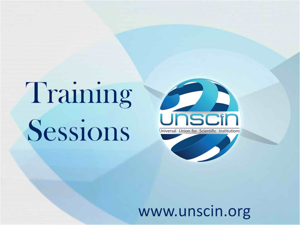 UNSCIN TRAINING SESSIONS
